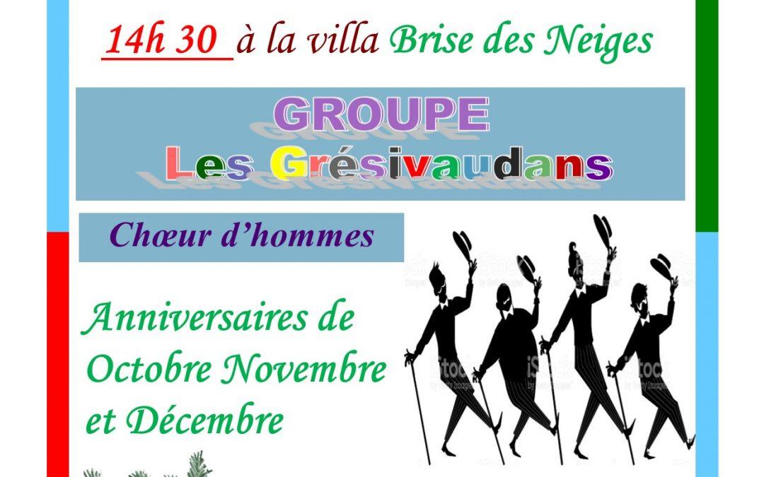 Noël au club BRISE DES NEIGES